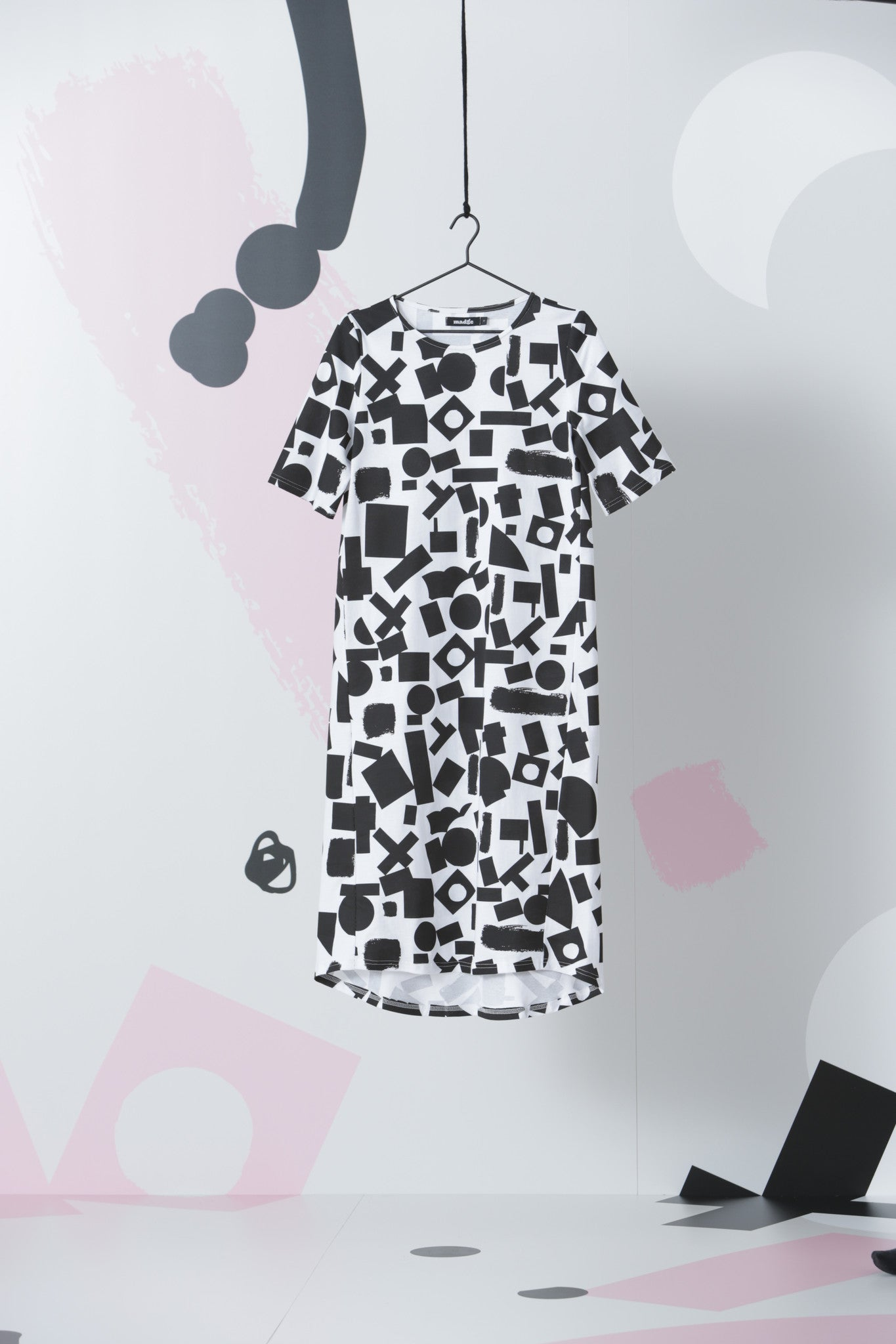 Bloques Tee Dress