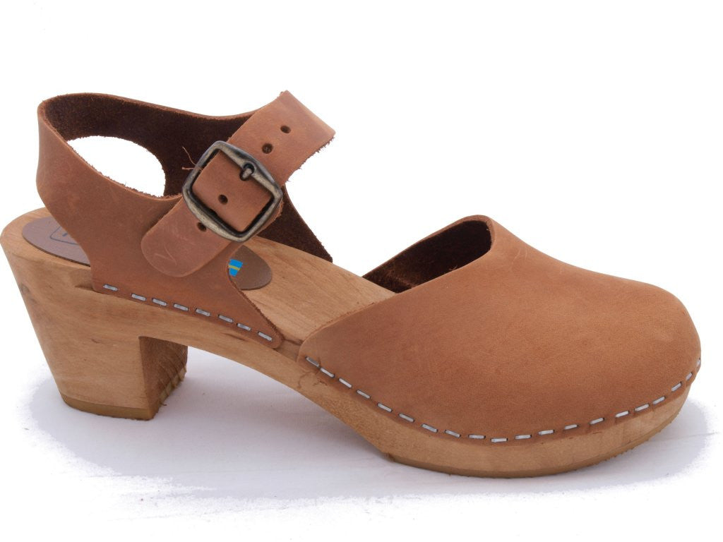 Dolly Clog: Cognac