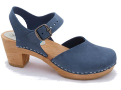 Dolly Clog : Navy