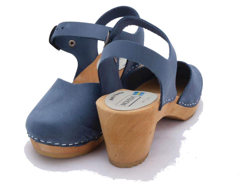 Dolly Clog: Navy
