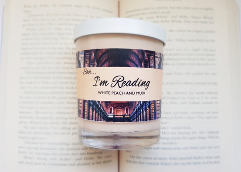 SHH... I'M READING - White Peach and Musk