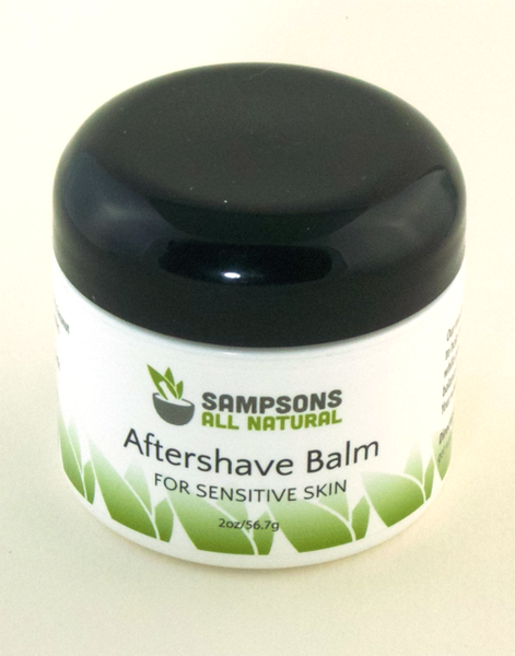 Aftershave Balm for Sensitive Skin