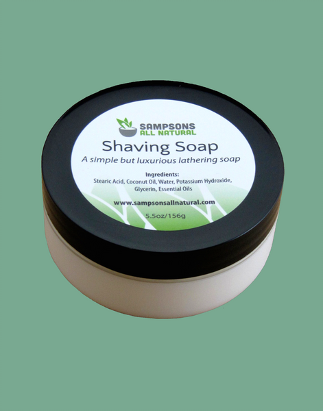 Shaving Soap – luxurious, but economical.  Does one job and does it right.
