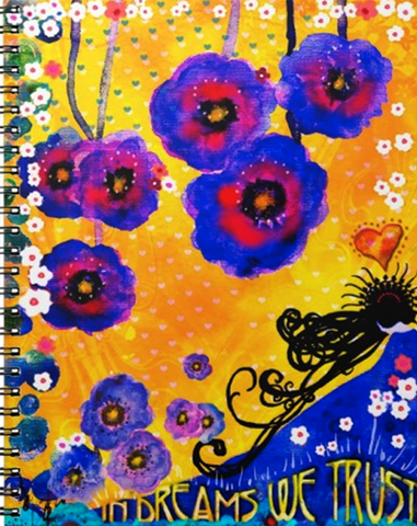IN DREAMS WE TRUST Spiral Note Book
