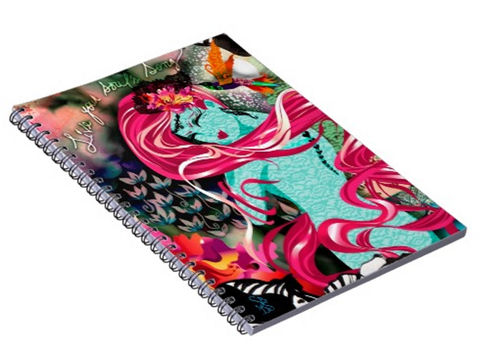 LIVE YOUR SOUL'S SONG Spiral Notebook