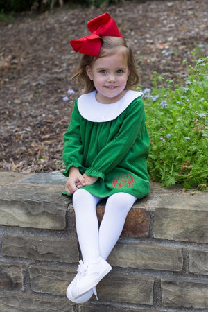 Girls Long Sleeve Bishop Dress