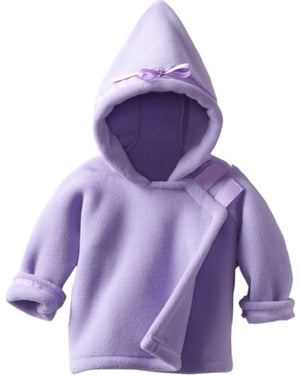Widgeon fleece coat children toddler boys girls baby purple