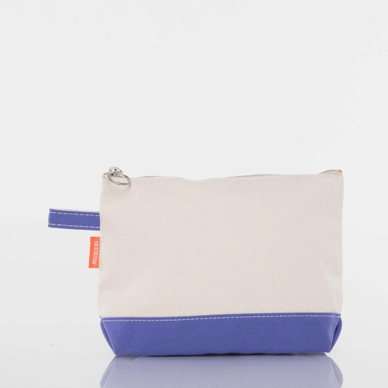 Canvas Catch All Pouch - Violet