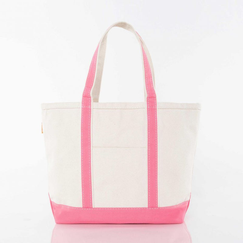 Medium Boat Tote - Coral
