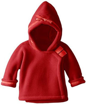 Widgeon fleece coat children toddler boys girls baby red