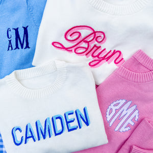 Personalized Sweaters