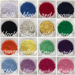 Bryn and Proper thread colors options