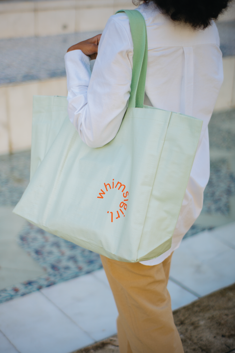Pick-Me-Up Tote in Pistachio
