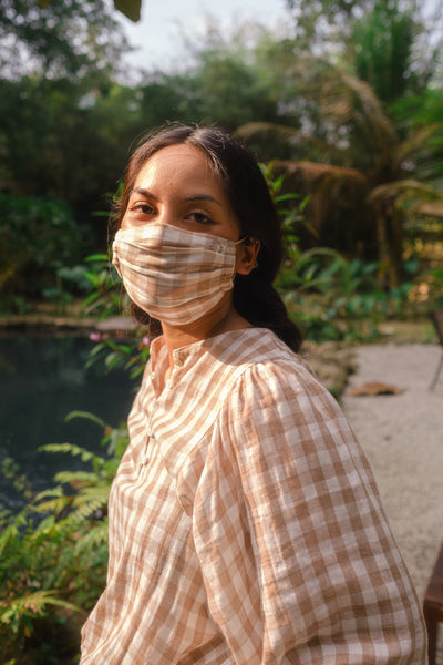 Earloop Face Mask - Gingham Series