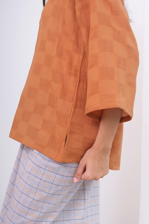 Dayang Top in Brown