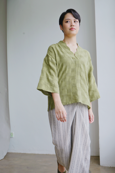Dayang Top in Olive