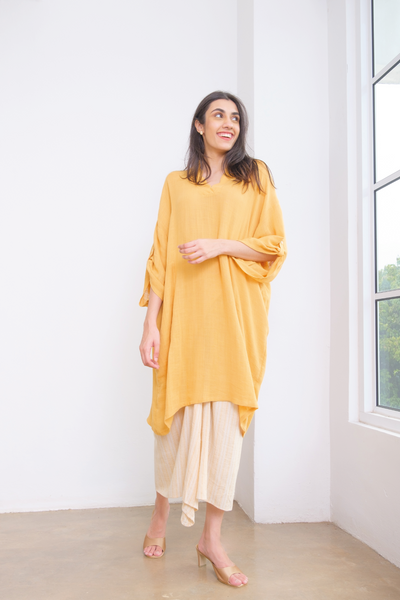 Mayang Top in Mustard
