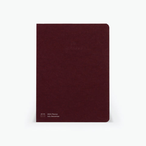 Vertical Half-Year Planner Refill (July-December 2020)