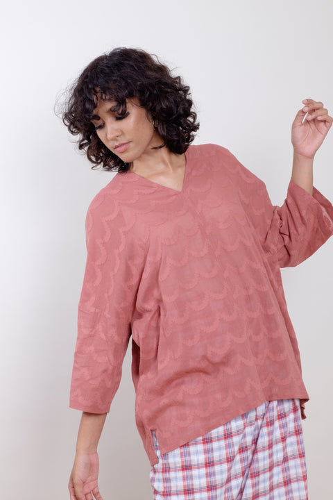 Jasmin Top in Blush