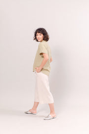 The Short Sleeve Linen Shirt in Mint