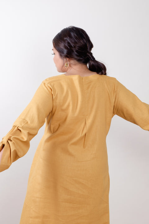 Kuntum Set in Mustard