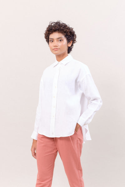 The Everyday Linen Shirt in White