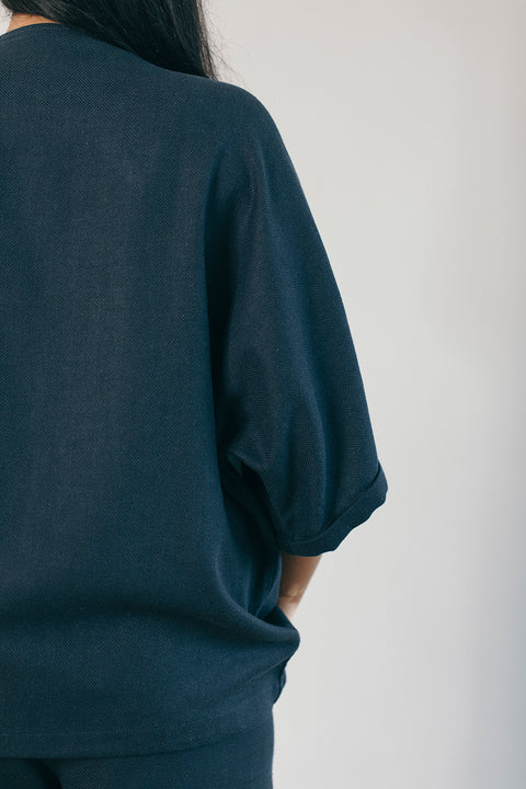 The Clever Cover Up in Navy