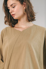 The Go-To Blouse in Mocha