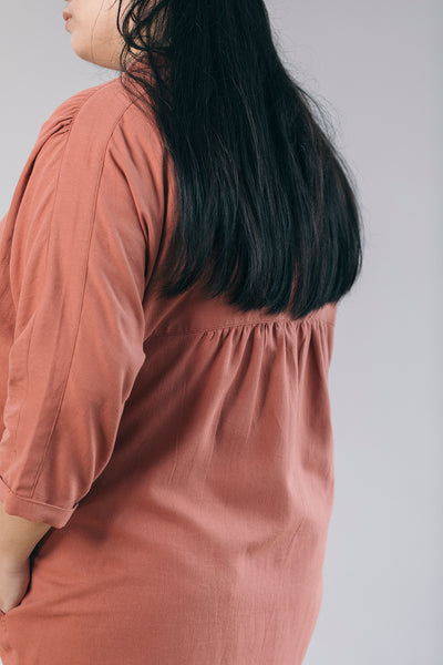 The Utility Shirt in Terracotta