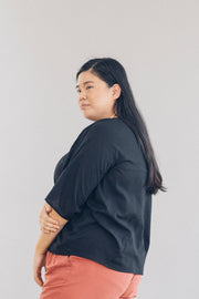 The Go-To Blouse in Black