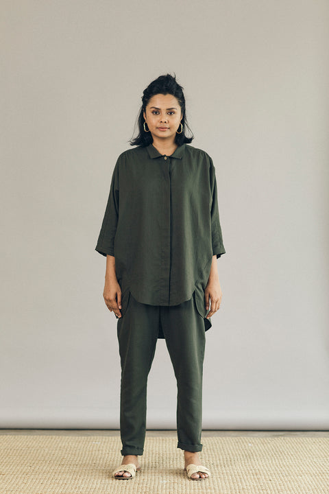 The Utility Suit in Evergreen