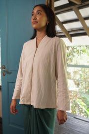 Juita Kebaya Top in Cream