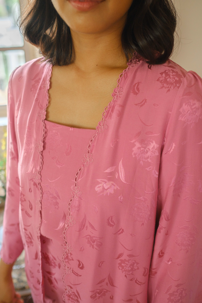 Rani 2-piece Kebaya Top in Pink