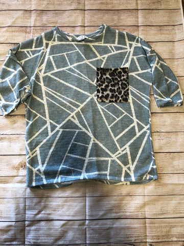 Lovely J Trapezoid Top