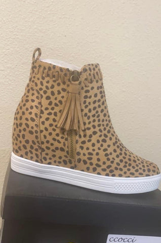 My Leopard Booties
