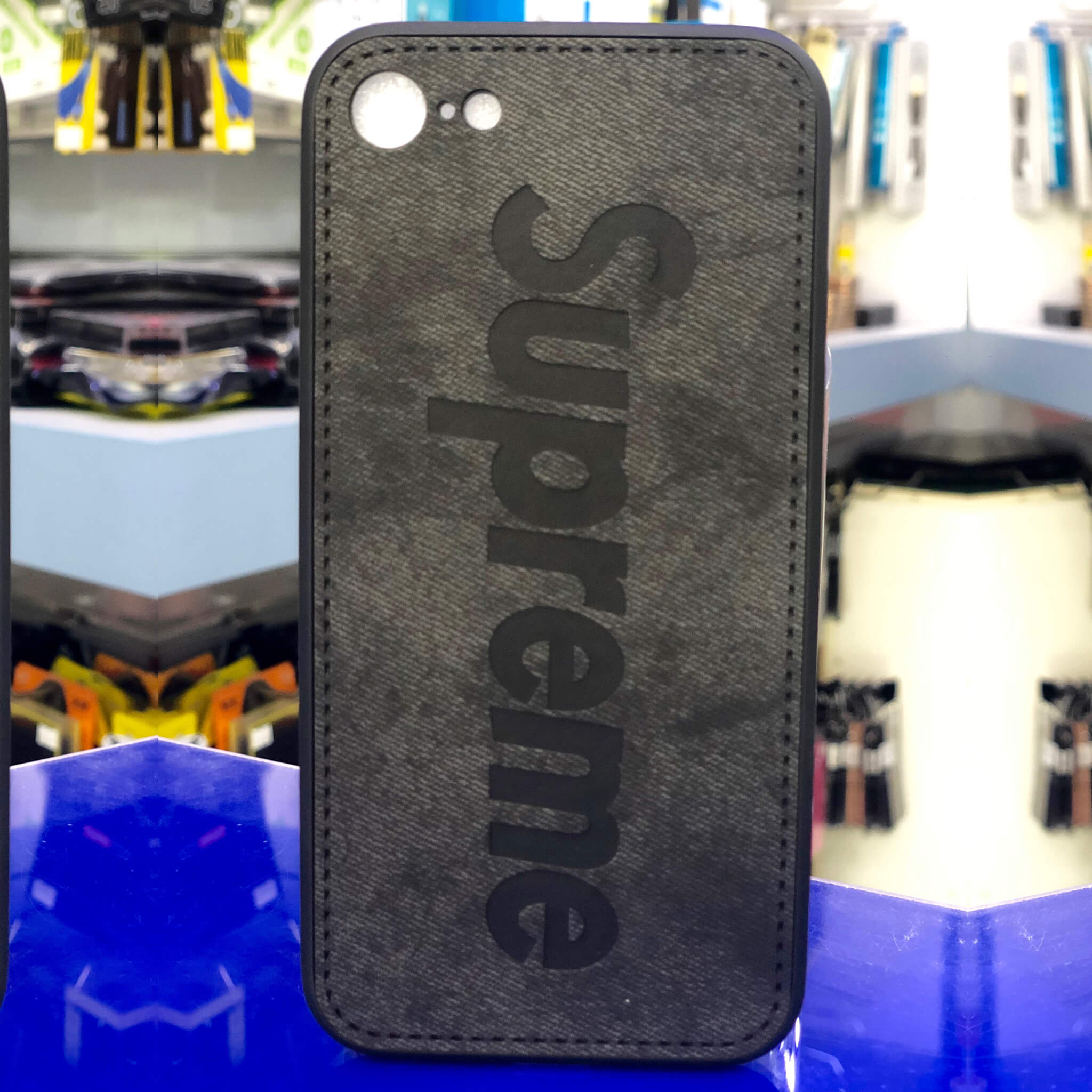 Supreme Case iPhone 8-7 Black