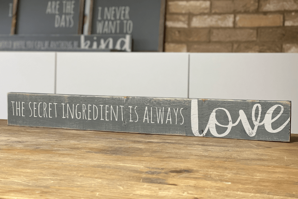 Create Your Own Long Wood Sign | Bespoke - The Imperfect Wood Company - Long Wood Sign