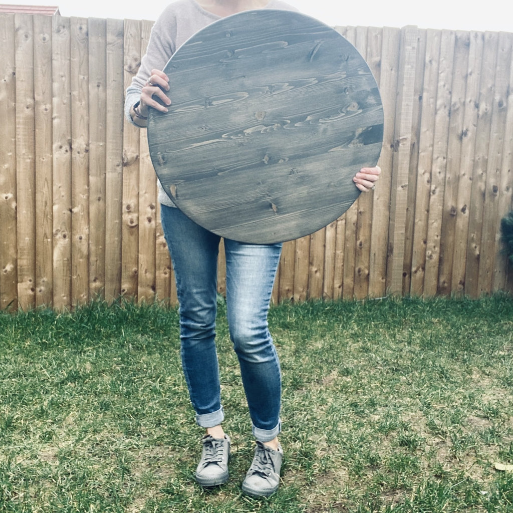 Create your own Round Wood Sign | Wood Shape | Bespoke - The Imperfect Wood Company - Wood Shapes