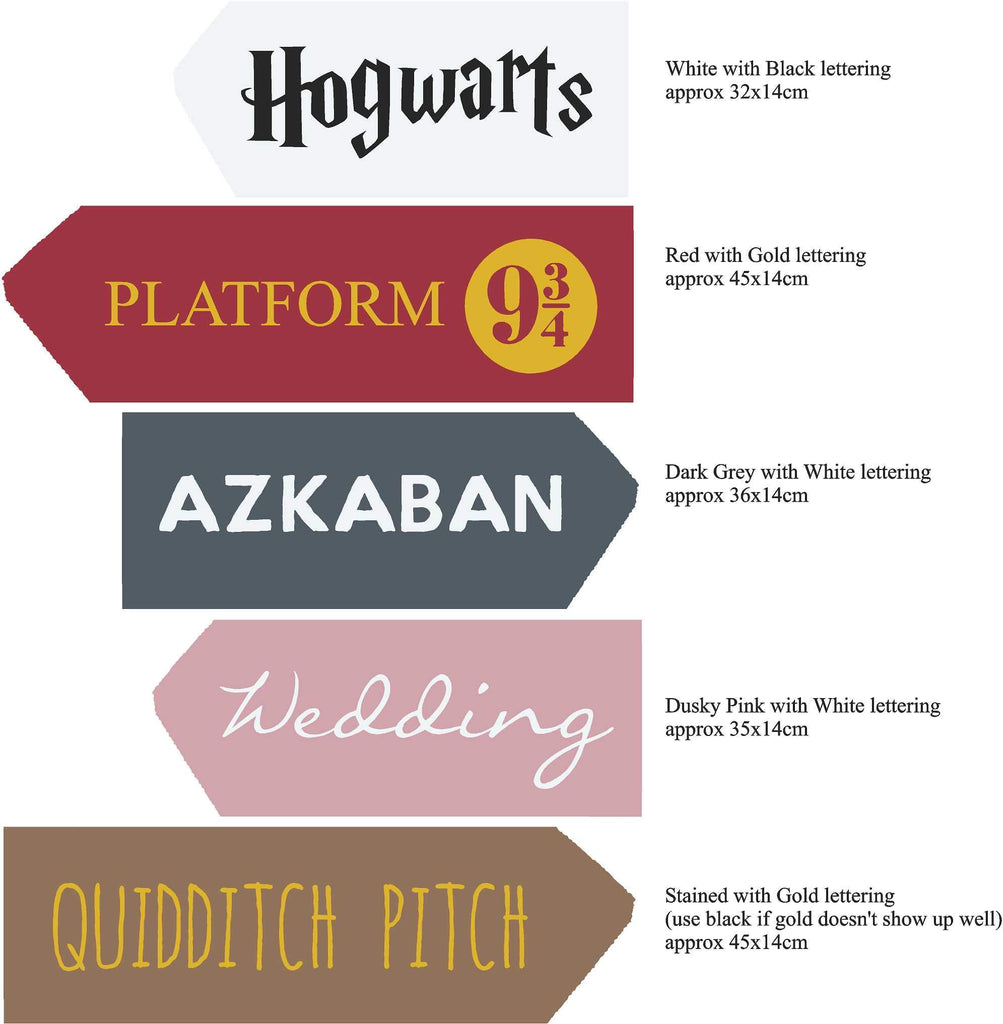 CUSTOM | Reclaimed Wood Signs | Harry Potter - The Imperfect Wood Company - Custom