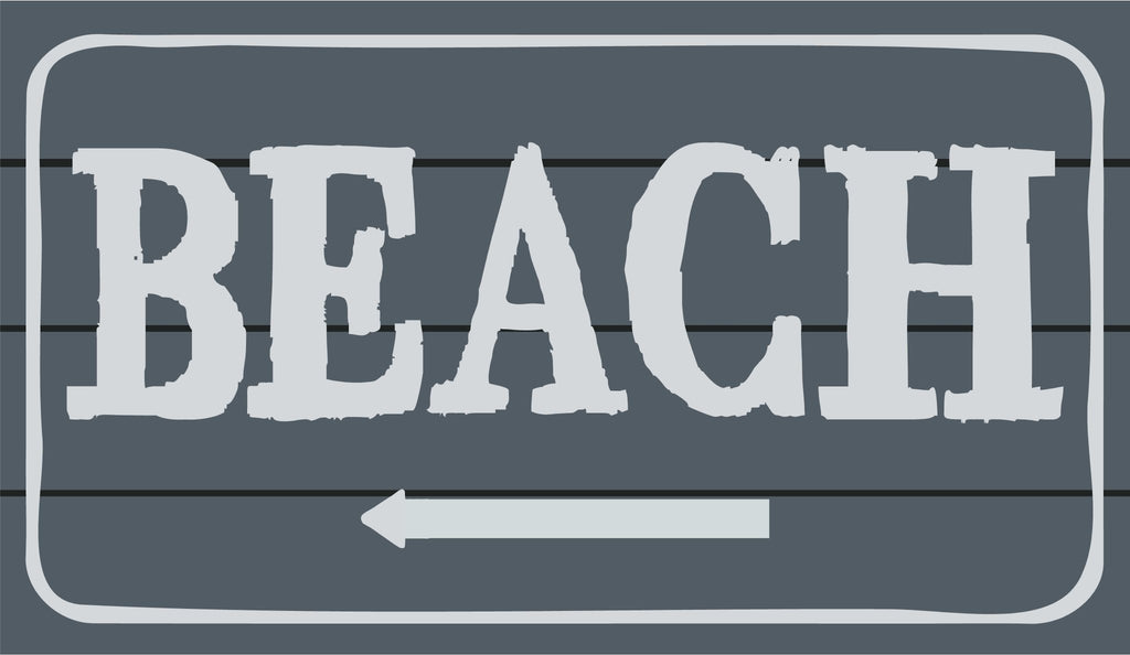 CUSTOM | Wood Sign | Beach - The Imperfect Wood Company - Custom