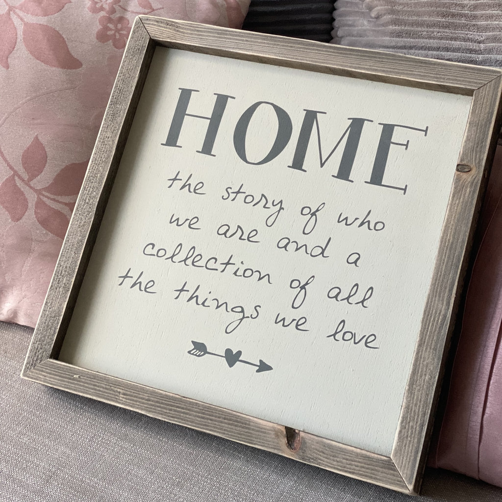 Home | Framed Wood Sign | #MIND - The Imperfect Wood Company - Framed Wood Sign
