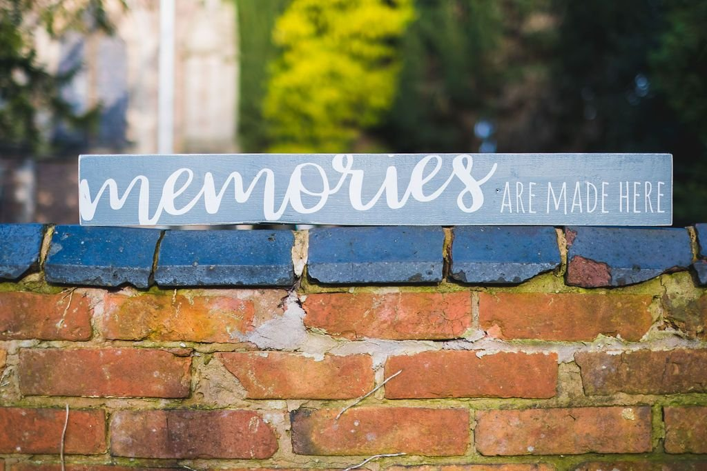 Memories Are Made Here | Long Wood Sign - The Imperfect Wood Company - Long Wood Sign