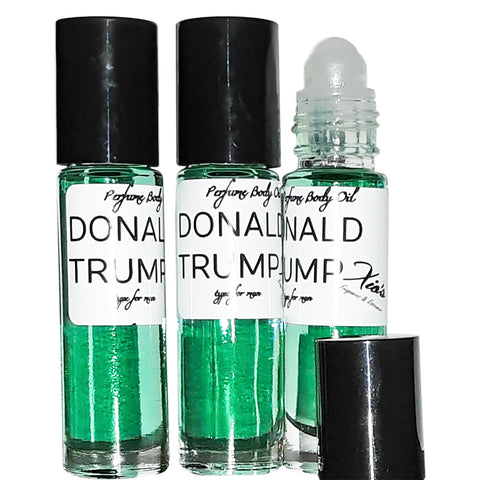 Donald Trump For Man  Alternative Generic Version) Set of 3 10.35 ml Roll-on