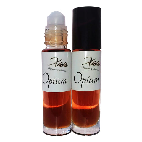 Opium Fragrance Perfume Oil 2 (1/3 oz Roll On Bottles) by Xio's