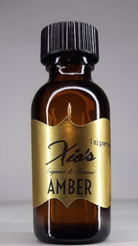 Amber Premium Grade Fragrance Oil 30 ml