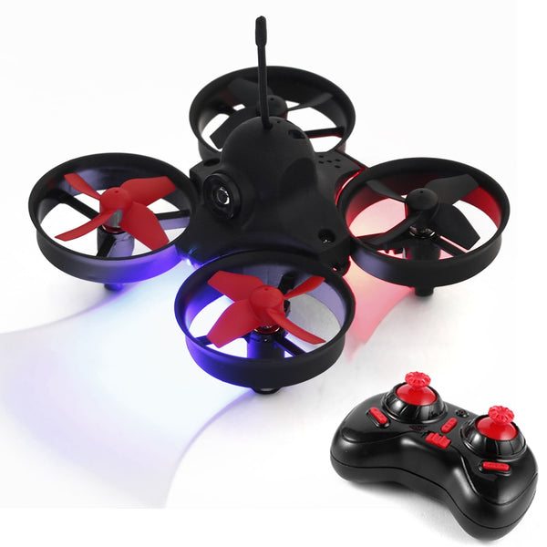 PoKe FPV 360 Degree Flip 5.8G 25mW Camera Headless Mode One Key Return Indoor Mini Racing Drone FPV Quadcopter RTF Drone