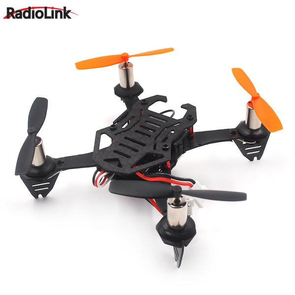 Radiolink F110S Mini Camera Drone Quadcopter With T8FB CS360 FC R6DSM RX BNF Headless 360degree Throw Fly Auto Parameter Tune