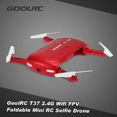 GoolRC T37 Wifi FPV HD Camera G-sensor Altitude Hold Foldable Mini Selfie RC Drone Quadcopter