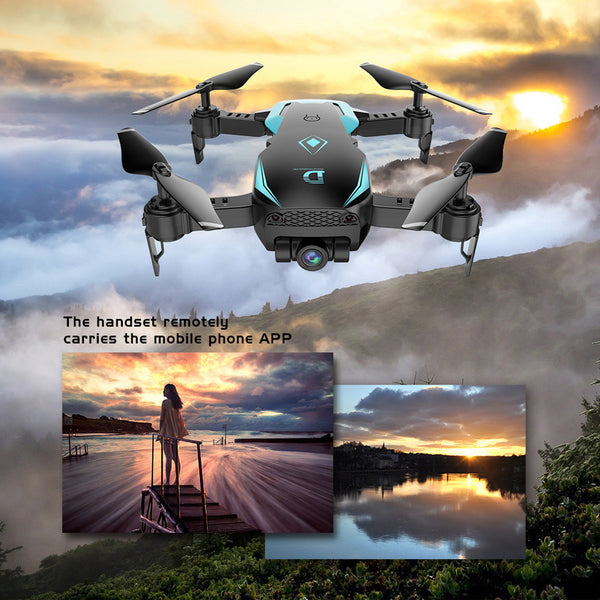 X12 Drone 720P Wide Angle Camera WiFi FPV 2.4G One Key Return QuadcopterToy Gift