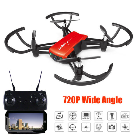 1802 720P Wide Angle HD Camera Wifi FPV Drone Altitude Hold RC Mini Quadcopter